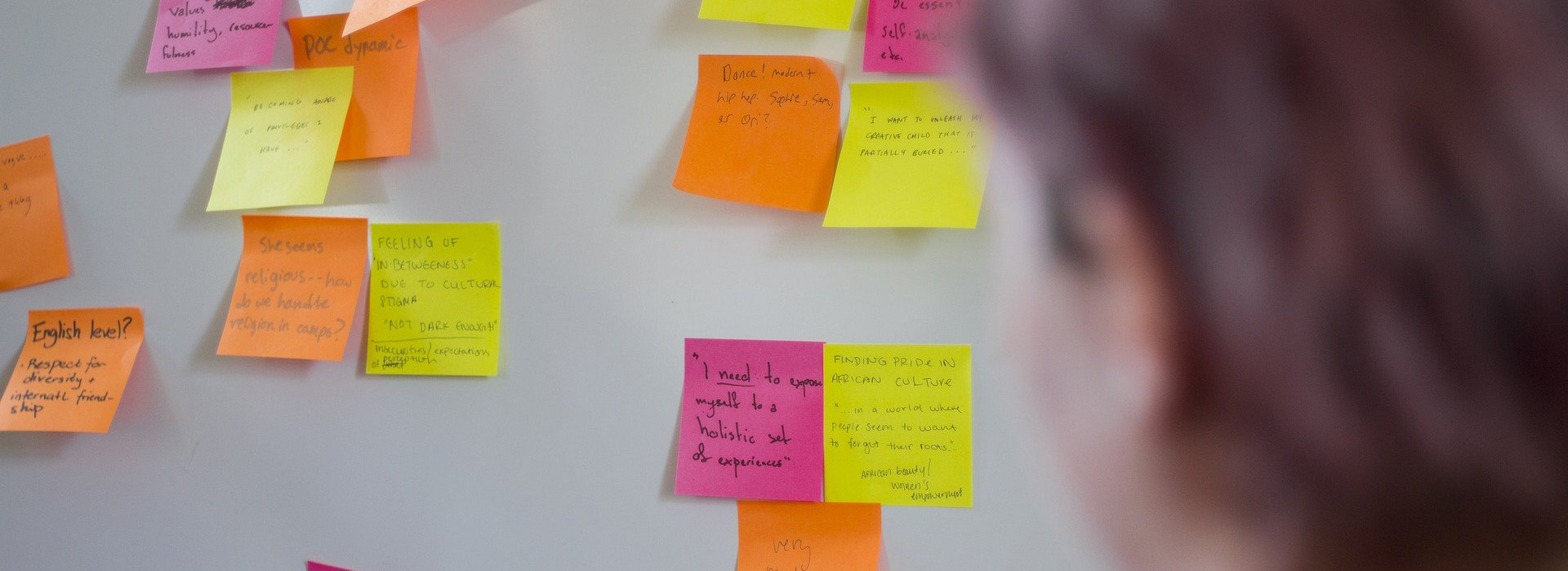 feedback on post it notes