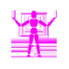 Ergonomics consultant pink logo
